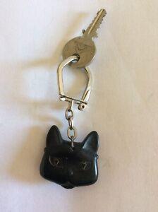 Porte clefs chat Marchal et Clefs Citroen  -garage-voiture-keychain