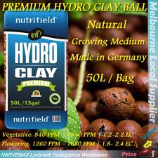 Hydroponics Nutrifield Premium Quality Expanded Clay ball 50L Hydro Grow Medium