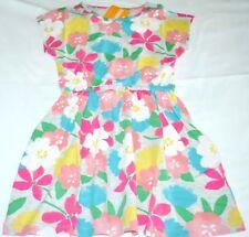Gymboree Mix N Match Pink Tropical Flower Cotton Dress Large 10 12 Kid Girls NWT