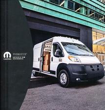 2015 Dodge Ram Promaster Van Original Car Accessories Mopar Brochure Folder