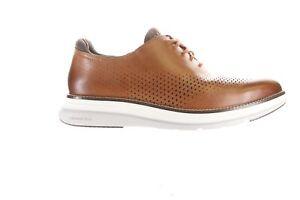 Cole Haan Mens Og Ultra Laser Ox Brown Oxford Dress Shoe Size 9 (2227377)