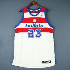 1022eec87 100% Authentic Michael Jordan Nike Washington Bullets NBA Jersey Size 52 2XL