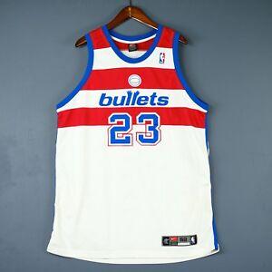 100% Authentic Michael Jordan Nike Washington Bullets NBA Jersey Size 52 2XL