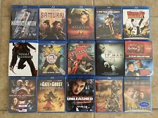 New listing Martial arts lot of 15 Blu-ray movies 12 New Sealed