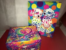 Lisa Frank Folder Spotty and Dotty Dancing Dolphins Jewelry Box Vintage Lot