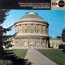 JEAN MARTINON / Popular French Overtures / UK Decca Eclipse ECS 547, 2G/1G
