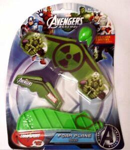 Marvel Avengers Assemble Foam Plane ~ HULK