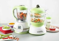 NEW! Babymoov with mums Nutribaby Zen Digital Baby Food Steamer Processor