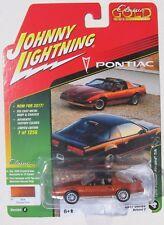 JOHNNY LIGHTNING 2017 CLASSIC GOLD 1986 PONTIAC FIREBIRD TRANS AM #4 1/1,256