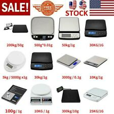Digital Postal Shipping Scale Weigh Postage Kitchen Jewelry Scale Counting US