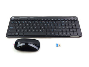HP US-EN CANADIAN WIRELESS DESKTOP KEYBOARD MOUSE RECEIVER COMBO KIT 801523-DB2