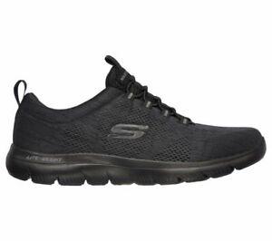 Skechers Summits-Louvin Black/Black Men's Training Shoes Sneakers 232186/BBK