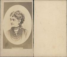 Adelina Patti, cantatrice italienne Vintage CDV albumen carte de visite  CDV,
