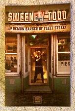 Sweeney Todd - NYC - program / playbill -  Original revival cast!  Brand new.