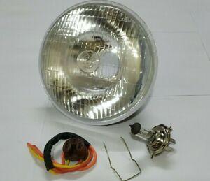 "LUCAS 7"" INCH CLASSIC CAR SEALED BEAM HEADLAMP HEADLIGHT HALOGEN H4 CONVERSION"