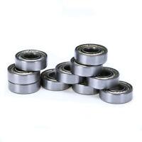 10pcs 698ZZ 8*19*6mm Carbon Steel Sealed Deep Groove Radial Ball Bearings Set