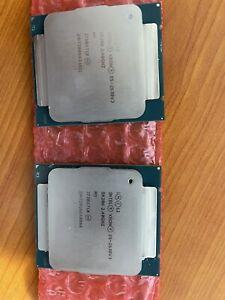 Intel Xeon E5-2630v3 - MATCHED PAIR