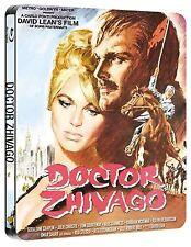 DOCTOR ZHIVAGO (1965) BLU RAY OMAR SHARIF FILM STEELBOOK EDITION NEW REGION B