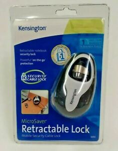 Kensington Retractable Lock MicroSaver Mobile Security 4ft Cable 64053 Sealed