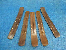 10 INCH Incense burner ash catcher stick brass star inlay (5 PCS LOT) FREE SHIP