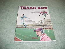 1991 Texas A&M Aggies Football Media Guide Kevin Smith Bucky Richardson Cover