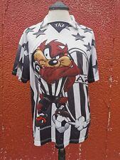 Vintage 1999 Taz Looney Tunes Juventus Football Shirt Jersey Size XL Retro rare