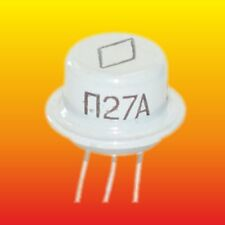 P28 П28 LOT OF 4 RUSSIAN LOW NOUSE GERMANIUM PNP TRANSISTOR 30mW 8mA ~AC106