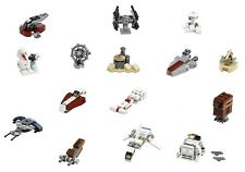 Lego Star Wars Mini Build x15 Sets Jabba's Palace DESERT SKIFF TIE Intercepteur + +