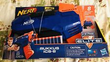 Nerf N-Strike Elite Rukkus ICS-8, 8-Dart Indexing Attached Clip