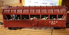 Excursion Car Built Cumbres & Toltec Scenic Railway C&TS HOn3