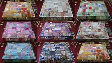 New 10 Pcs Wholesale Lots Indian Patchwork Floor Cushion Covers Home Decorative