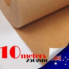 10M Kraft Paper Roll 250gsm/1000mm Wide Pattern Drafting Blocks  For DressMaking