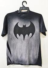 Vintage 80's Acid Wash Mosquitohead Batman Logo T-Shirt Movie Tie Dye