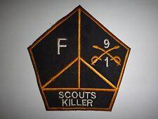 Vietnam War US F Troop 1st Squadron 9th Cavalry Regiment SCOUTS KILLER Patch