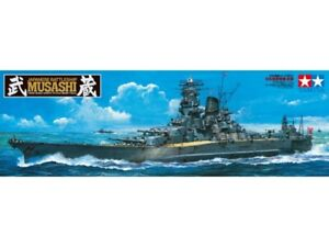 Tamiya 78031 Japanese Battleship Musashi 1/350 Scale Plastic Model Kit