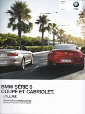 brochure 2012 BMW Série 6 COUPÉ & CABRIOLET