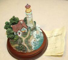 """Hawthorne Village Thomas Kinkade """"Beacons of Hope"""" Lighthouse Limited Edition"""