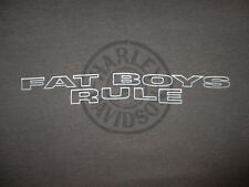 HARLEY DAVIDSON FAT BOYS RULE T SHIRT Motorcycle Biker Myrtle Beach Men Adult XL