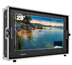 "Liliput BM280-4KS 28"" 4K Camera Monitor Broadcast 3D Ultra-HD 3G-SDI/DVI/VGA/AV"