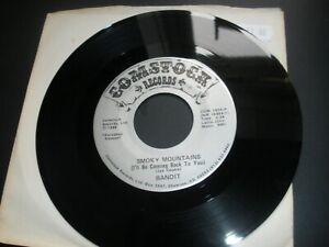 "Bandit Smoky Mountains (I'll Be Coming Back To You 7"" 1986 Comstock COM 1834"
