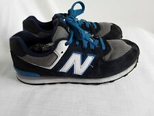 Ladies Blue New Balance 574 Trainers Size 4