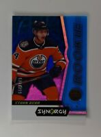 2018-19 18-19 UD Upper Deck Synergy Blue Rookies Tier 1 #48 Ethan Bear /799