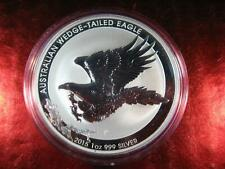 2015 Silver Australian WEDGE-TAILED EAGLE 1 oz .9999 Premium Coin Proof-Like