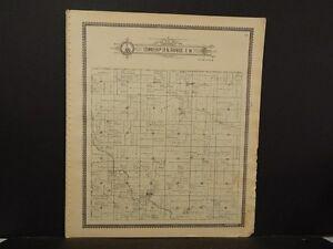 Missouri, Shelby County Map, Bethel Township 1902 J4#81
