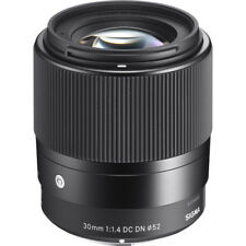 Sigma 30mm f/1.4 DC DN Contemporary Lens - Sony E-Mount - 4 YEAR USA WARRANTY