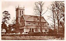 HAINAULT REDBRIDGE LONDON UK CHIGWELL ROW CHURCH POSTCARD