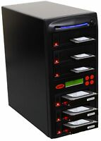 "SySTOR 1:5 SATA 3.5"" 2.5"" Hard Disk Drive HDD/SSD Duplicator Sanitizer - 90MB/s"