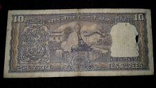 ★ RS.10 RUPEES NOTE ★ GANDHI READING BOOKS ★ SIGNED BY L.K.JHA ★ YEAR 1967 ★@