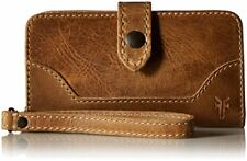 Frye Melissa Phone Holder Wallet Wristlet - Beige Leather - DB134 (NWT)