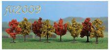 * Heki scala N/Z  1141 8 alberi a cespuglio 4 cm con piedistallo